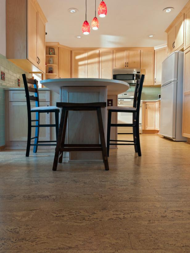 remodeled kitchen and cork floors TXTPCAD