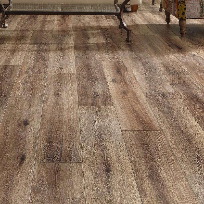 restoration wide plank 8u0027u0027 x 51u0027u0027 x 12mm laminate flooring in brushed FYLLEWO