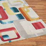Retro rugs – stylish and colorful