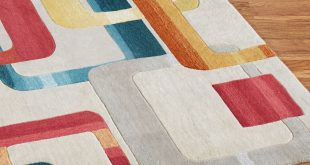 Retro rugs retro modo rug runner multi jewel 23 x 76 QAJBWJU