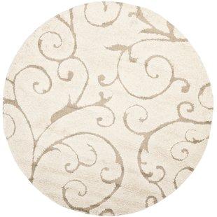 round area rug henderson area cream/beige rug XTOMAJM