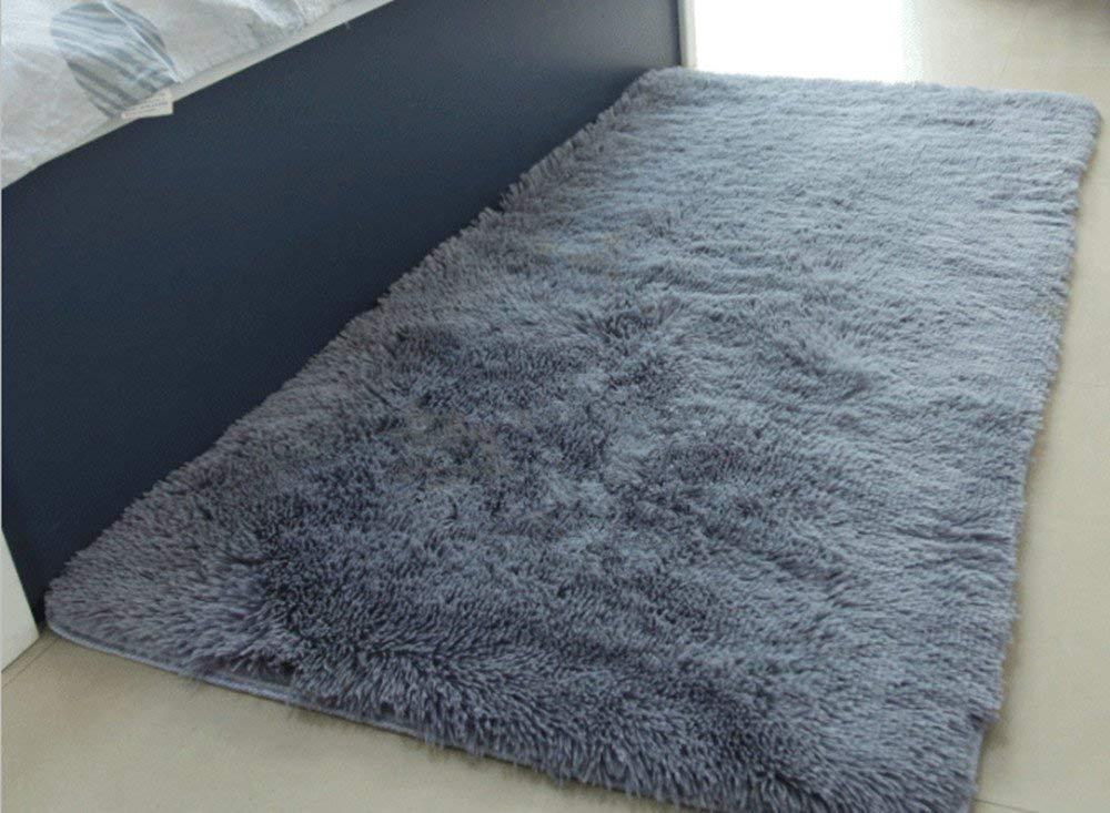 Rug carpet amazon.com : actcut soft indoor modern area rugs fluffy living room carpets SPRQWJN