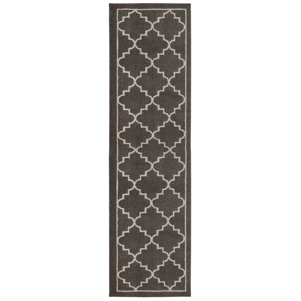 rug runner home decorators collection winslow walnut 2 ft. x 8 ft. runner rug WCNADMH