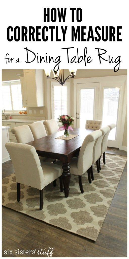rugs for dining room how to correctly measure for a dining room table rug and the best WMUXKTN
