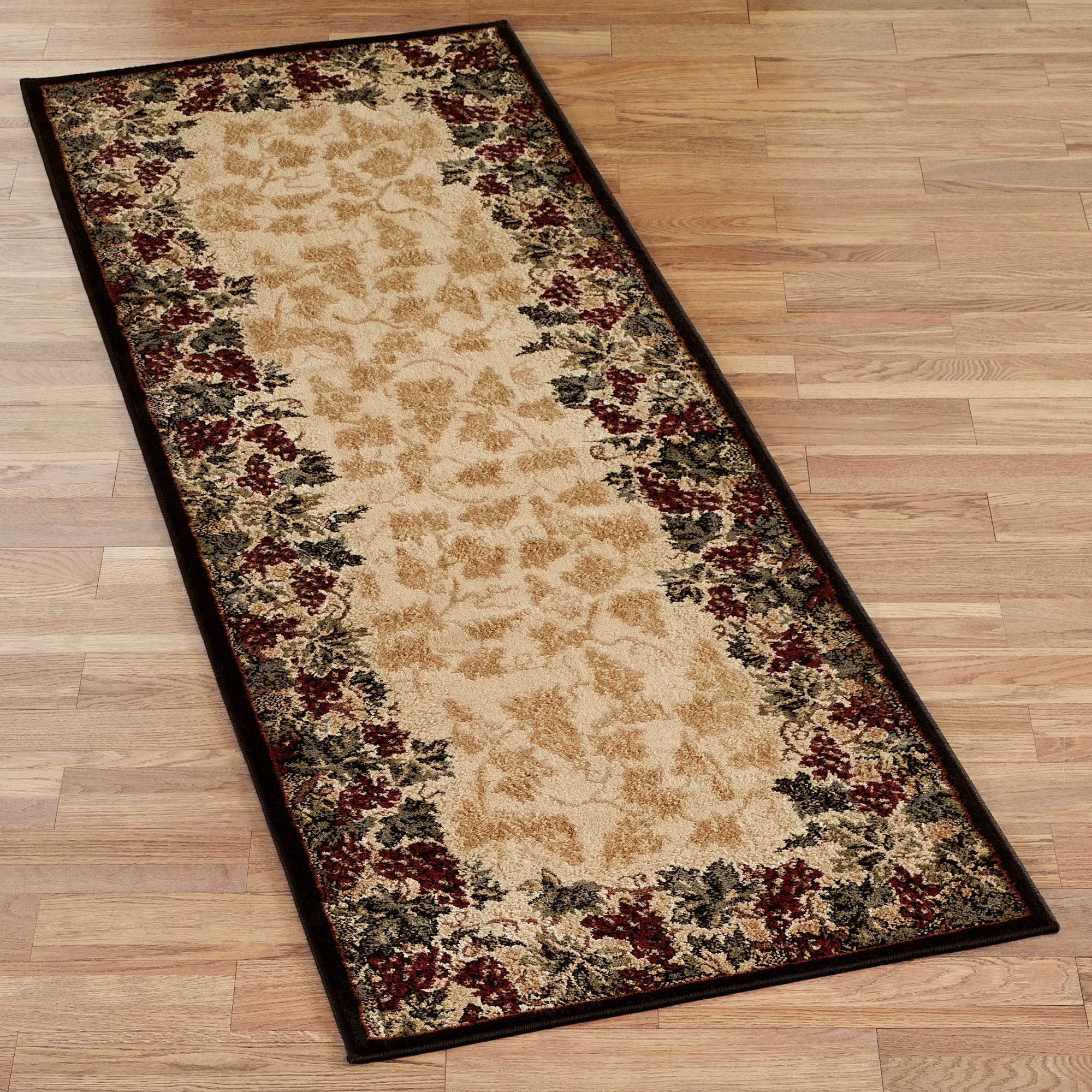 Different ideas for using runner rugs