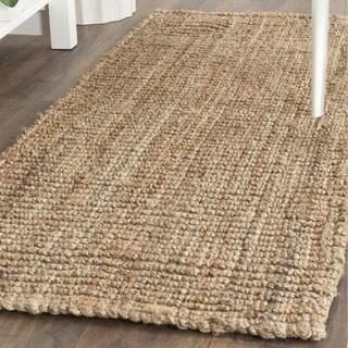 runner rugs safavieh natural fiber hand-woven chunky jute runner rug - 2u00276 VXVNWZA