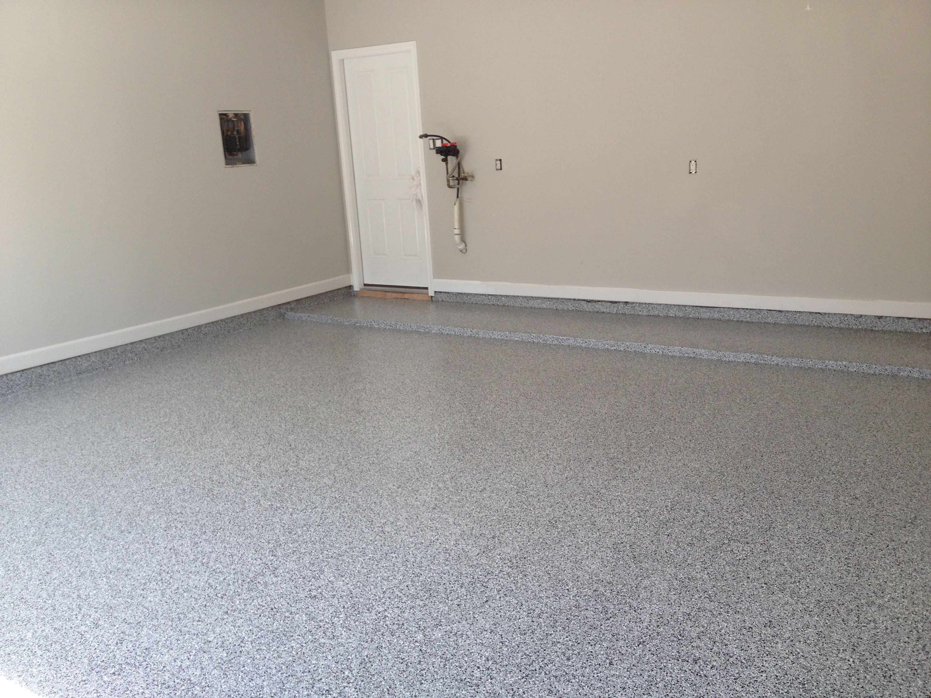 san antonio granite floor coating garage flooring project OIBGUFH