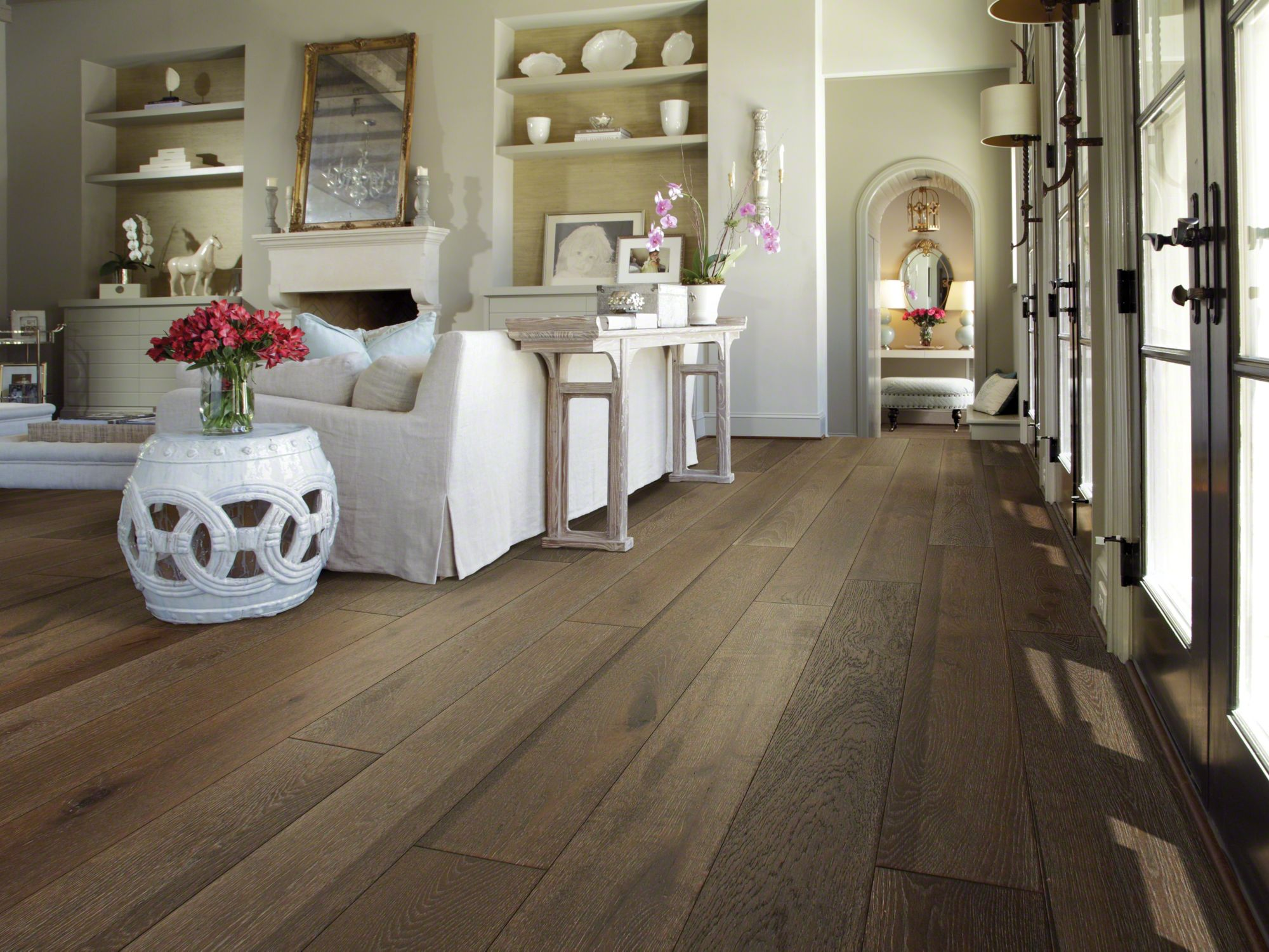shaw hardwood flooring argonne forest oak - room MFFVPDR