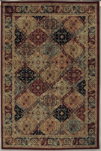 shaw rugs shaw living accents mayfield 17440 multi closeout area rug - 2014 PCRBBQW