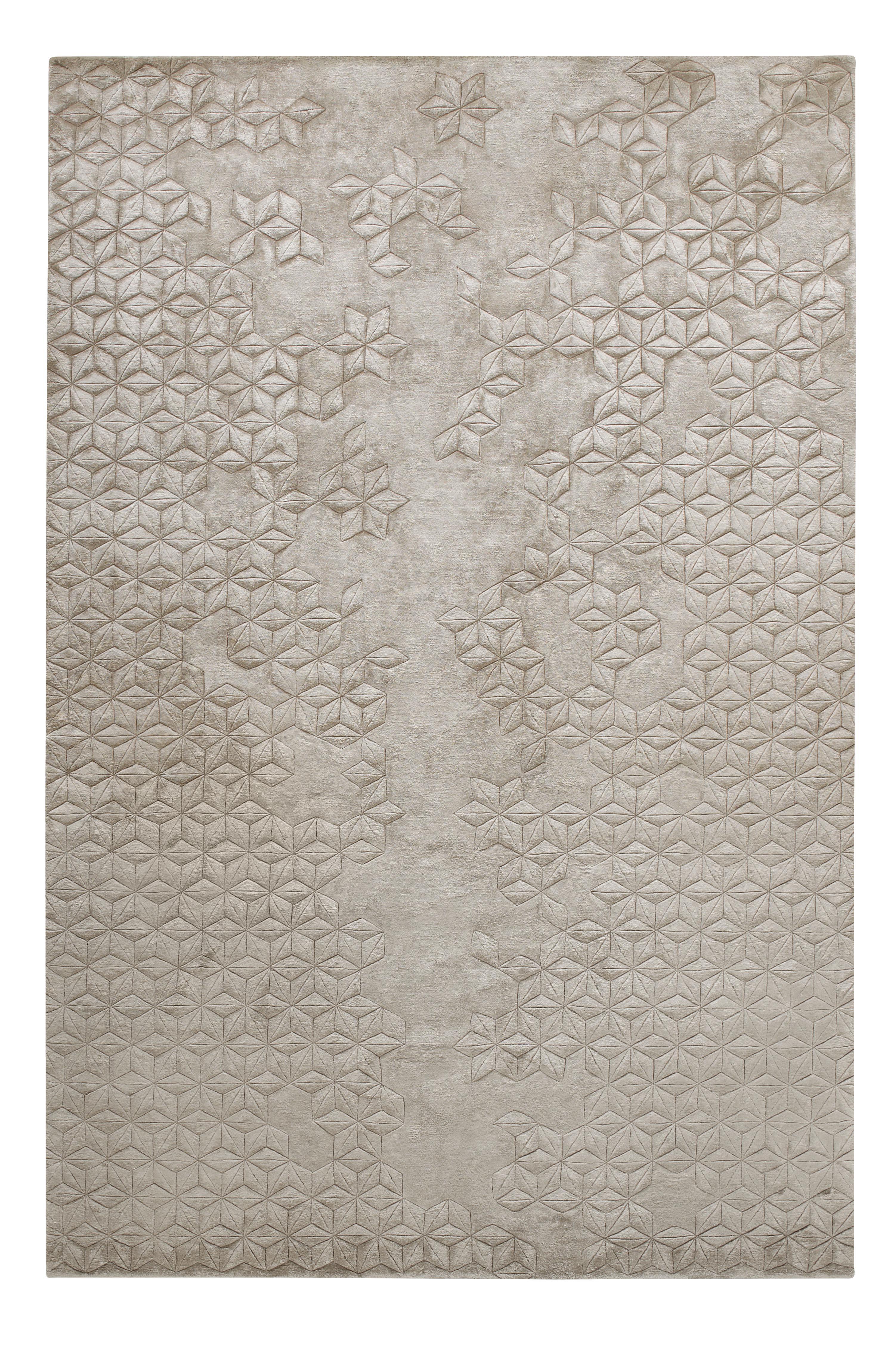 silk rug texture star silk rug by helen amy murray - abstract patterned geometric new - AUBAFSJ