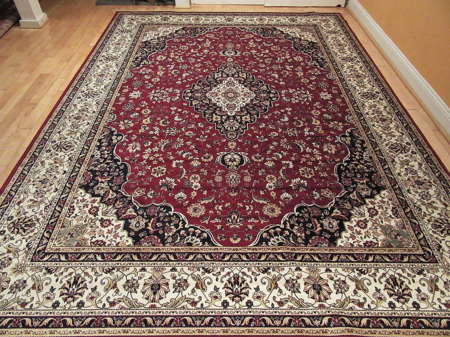 silk rugs persian silk ivory area rugs 6x8 red living room rug ZLMEOLD