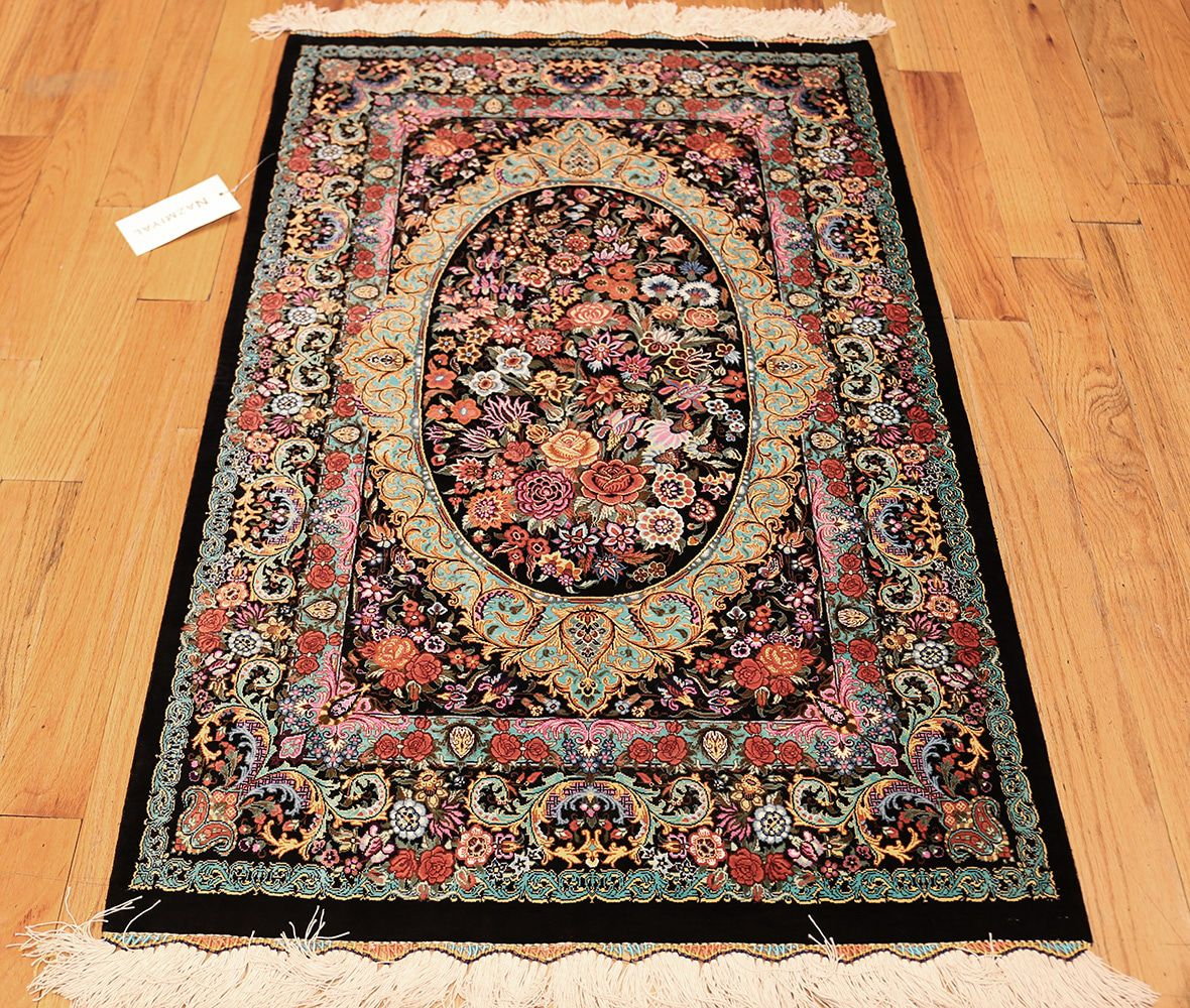 small rugs small scatter size modern persian qum silk rug 49410 whole nazmiyal SXXZGHG