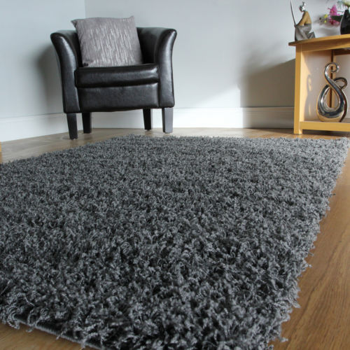 small rugs small x large size thick plain soft shaggy rug non shed 5cm pile SKFZVHR