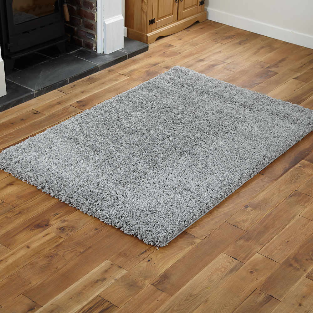 small rugs soft quality gy silver large 160x230cm rug 5cm thick non shed EUBJHRW