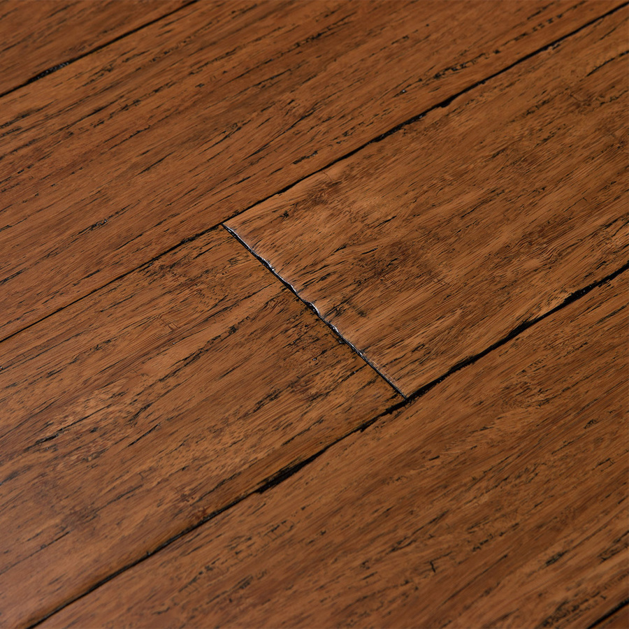 solid hardwood floor display product reviews for fossilized 3.75-in antique java bamboo solid  hardwood flooring NVWZXNO
