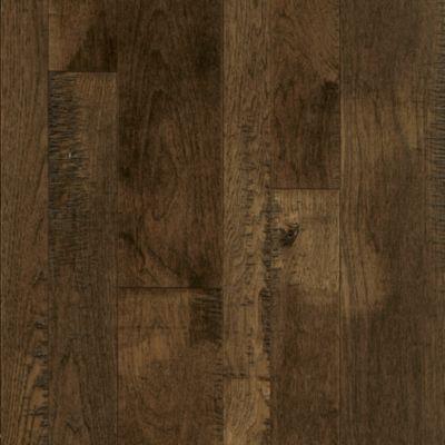 solid hardwood flooring hickory solid hardwood - bark brown SAZPKXW