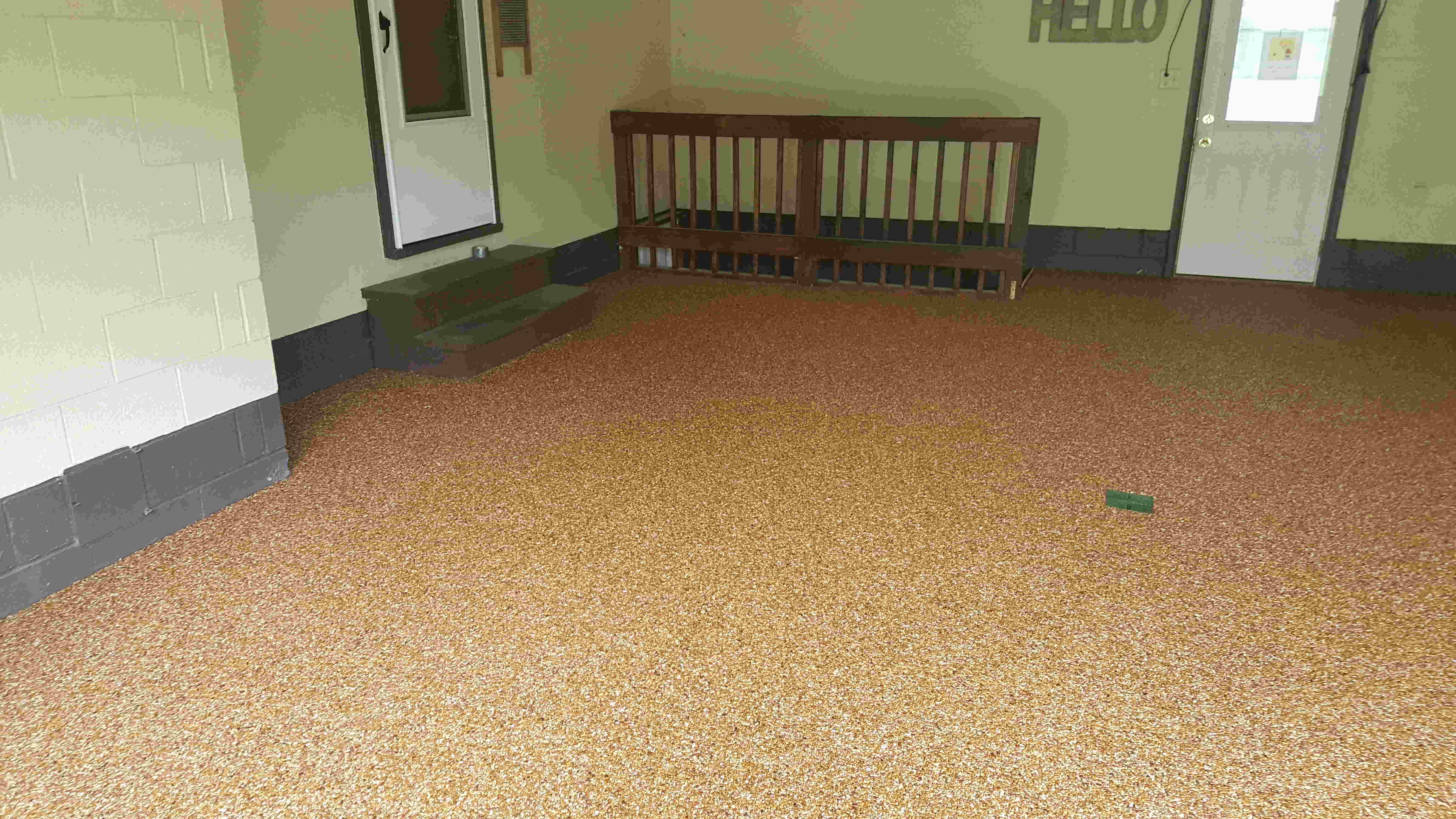 Solid stone floors epoxy natural stone flooring formidable floors oh pa wv rock solid home JDFJUTL