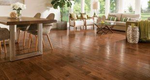 Solid wood floor american scrape VJPALZI