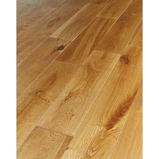 Solid wood floor solid wood flooring with regard to wickes harvest oak co uk decorations 9 WMKJEQP
