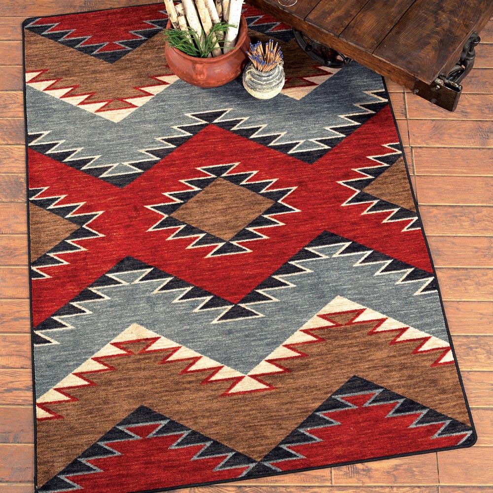southwestern rugs heritage southwestern rug - 4 x 5 GPUDEYU