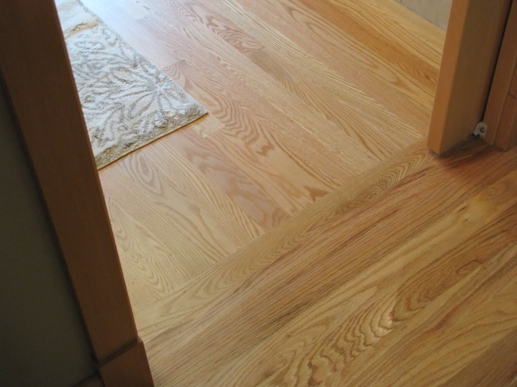 Strong wood floor strong wood floor transitions distinctive hardwood transition from room to  ... YAICJAD