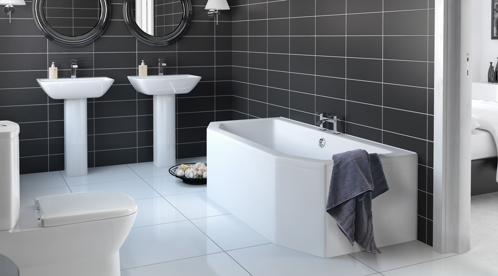 stylish bathroom floor furniture: white tile bathroom floor awesome stunning ideas of kitchen and  in GIZMUXX