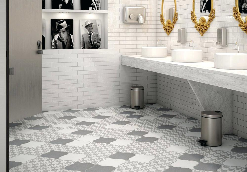 stylish bathroom floor tiles LOGFRYO