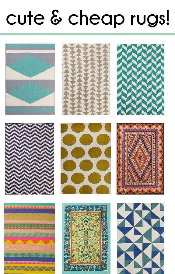 stylish u0026 affordable area rugs | decorating, house and diy ideas VQAWMGV