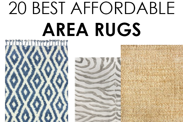 this post contains some affiliate links. 20 affordable area rugs: EOTWCJQ