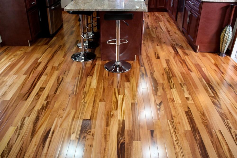 tiger wood hardwood flooring ... tigerwood plank room kitchen hardwood flooring SSVSICG