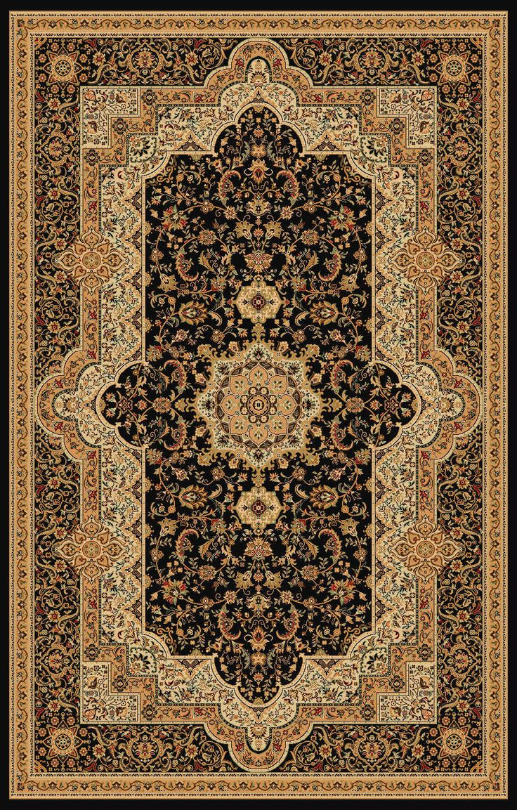Traditional persian style rugs charming persian style rugs cheap for your interior floor decor: elegant  black KMECAJU