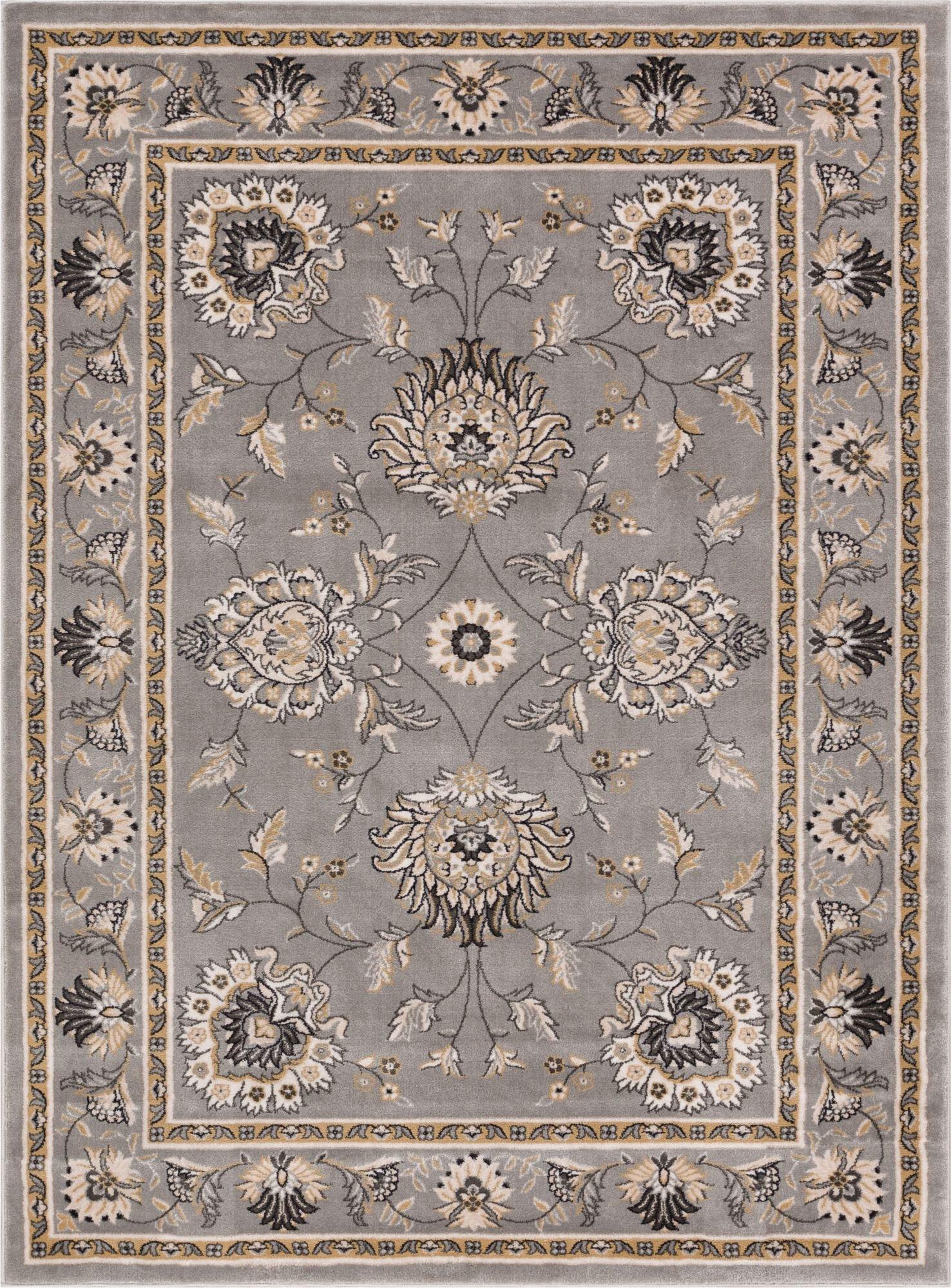 traditional rugs abbasi grey traditional rug OOLZYHO