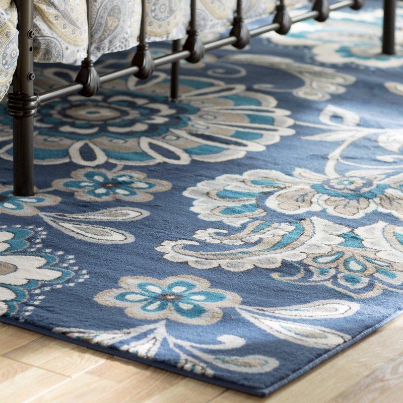 tremont blue area rug EPQDZAH