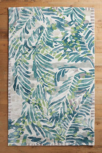 Tropical rugs blue tropical palm leaf rug:  http://www.caronsbeachhouse.com/blue-tropics-area-rug/ | shop caronu0027s beach  house CSGBXYT