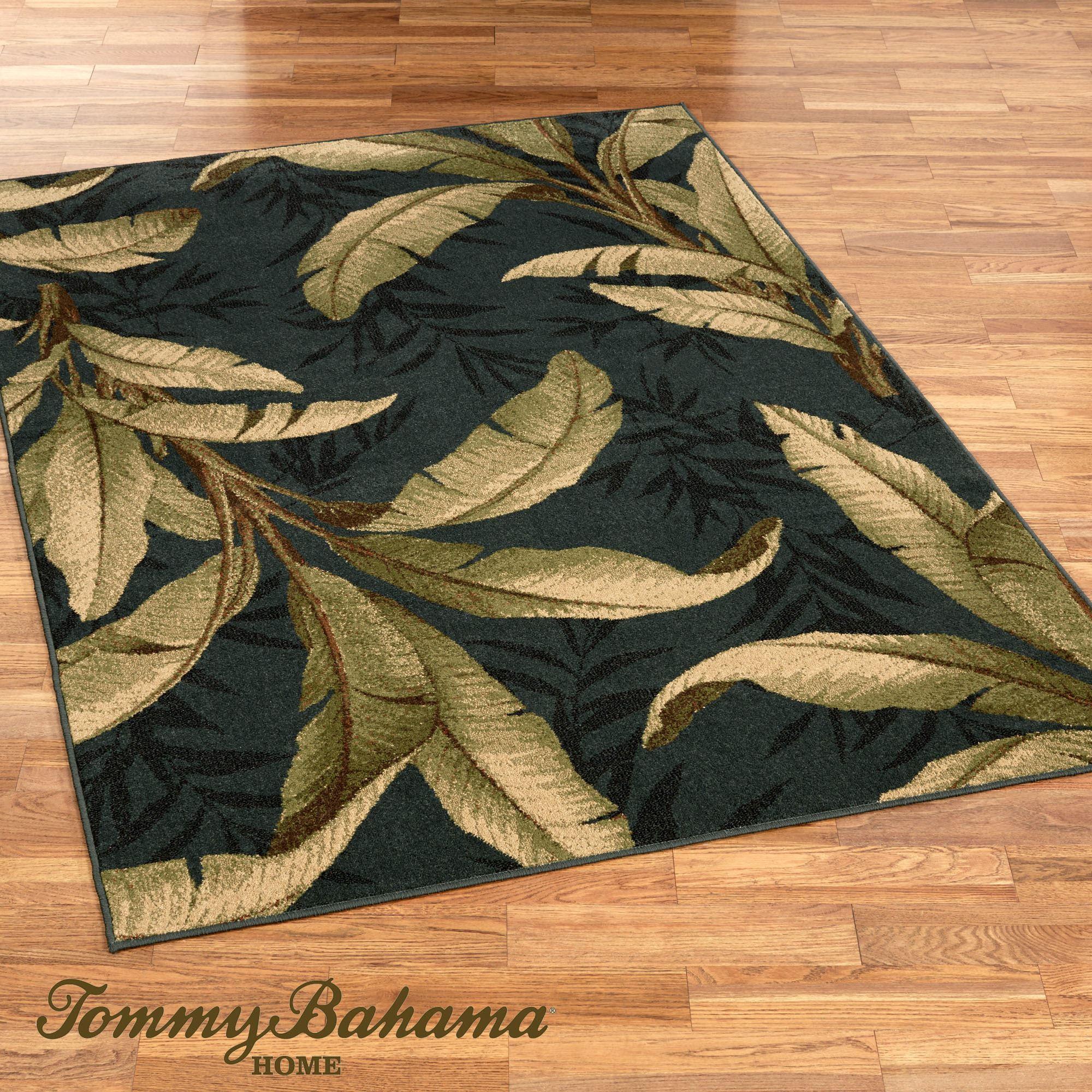 Tropical rugs exotic excursion rectangle rug denim KHBIQOZ