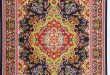 Turkish carpets xlrg woven turkish carpet w/fringe 32x20cm (12x8) OAVIGSC