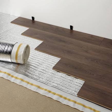 underlay for laminate flooring 4 in 1 foil backed underlay KRSZVNW