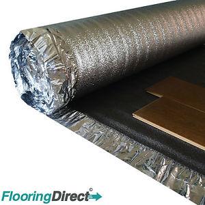 underlay for laminate flooring image is loading 5mm-sonic-platinum-underlay-wood-laminate-flooring -acoustic- UQGJOUI