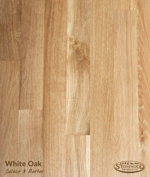unfinished oak flooring white-oak-select-and-better. hardwood flooring VQNWVQD