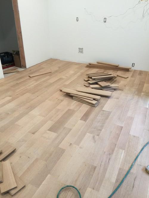 unfinished white oak floors GBDCMBJ