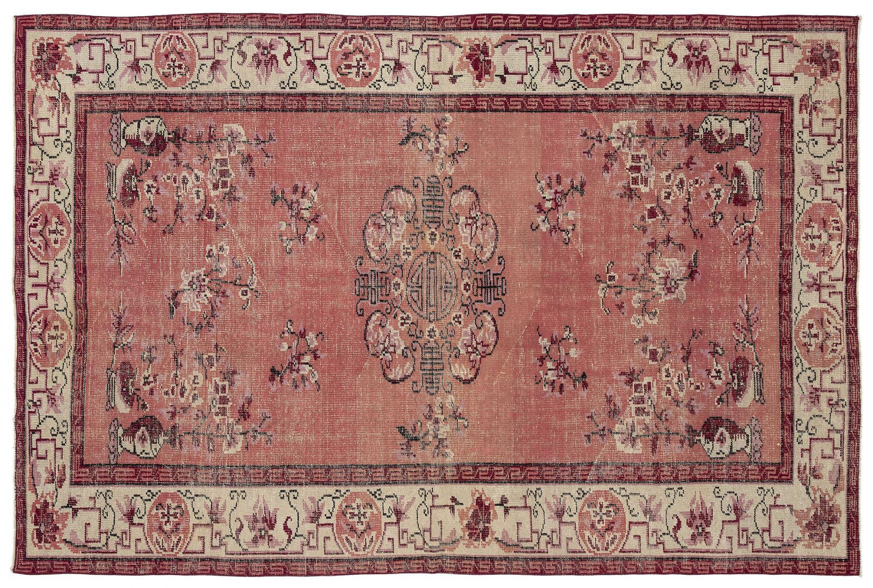 vintage red turkish rug FHXBSVN