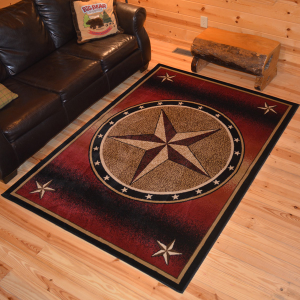 western rugs delectably yours decor rust texas western rug 2x3 2x8 runner 5x8 or 8x10 TQWDLPT