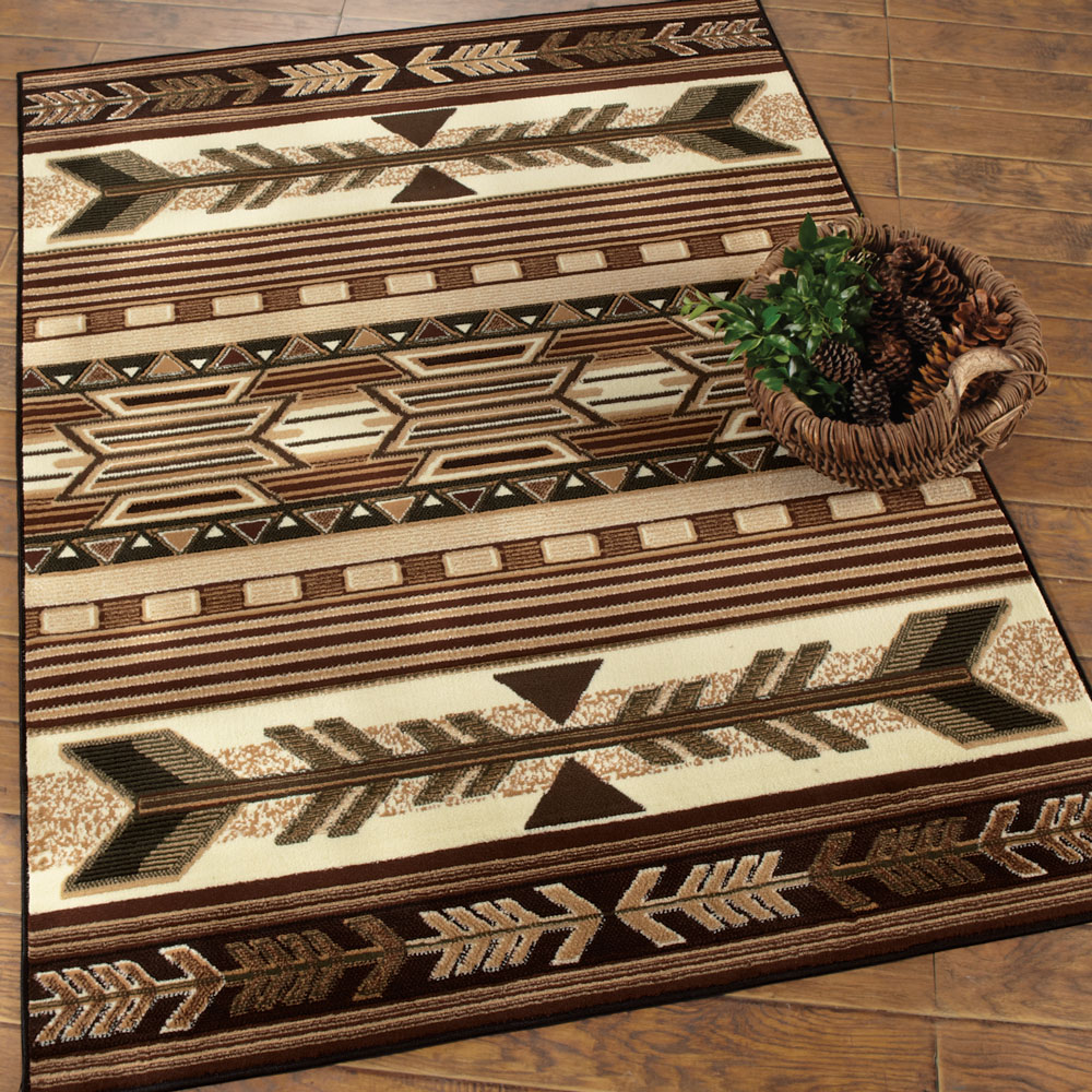 western rugs southwest rugs: broken arrow southwestern rug|lone star western decor ZPICTMT