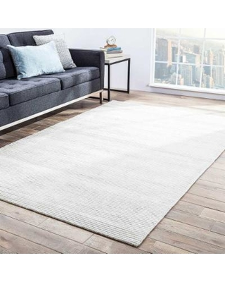 white area rugs juniper home phase handmade solid white area rug (8u0027 x 10u0027) - GDKAKME