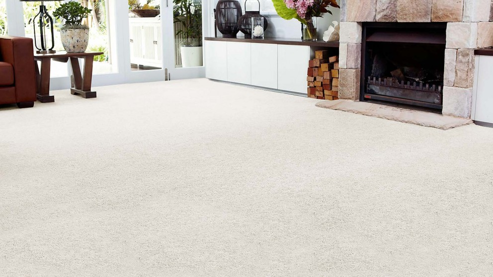white carpet smartstrand forever clean chic - white wisp carpet flooring MZAOQKW