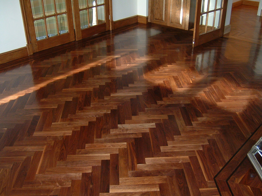 wood parquet flooring: classy recording studio essentials PAHIYAE