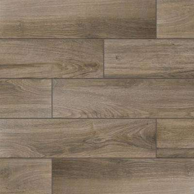 Wood tiles flooring sierra wood 6 in. x 24 in. porcelain floor and wall tile (14.55 KGRIITW
