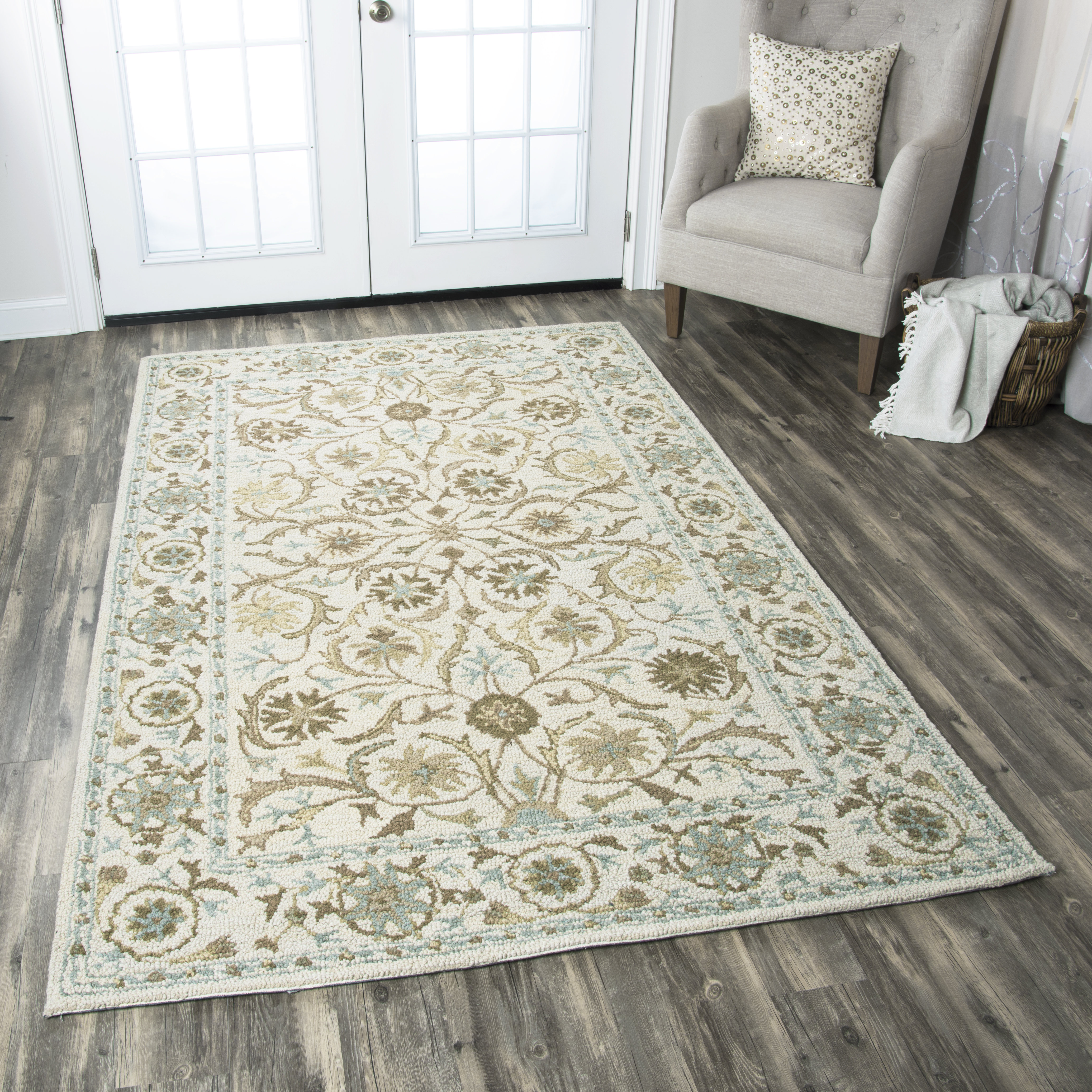 wool area rugs birch lane™ suzanne tufted wool area rug u0026 reviews | birch lane IZFYUKC