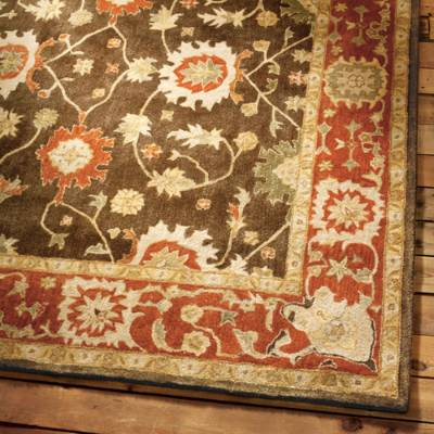 wool area rugs deerfield wool area rug | grandin road YXFCLEF