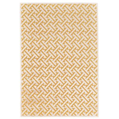 Yellow area rug feizy rugs soho zam 7-foot 6-inch x 10-foot 6- NQJXVLU